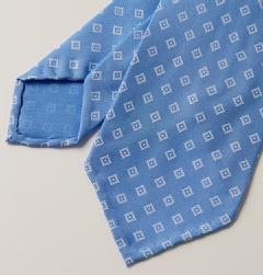 E&G CAPPELLI(イージー・カペッリ)<br>SILK DIAMOND KOMON TIE SAX