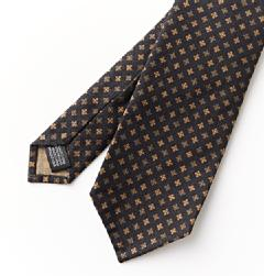 Giusto Bespoke(ジュスト・ビスポーク)<br>COTTON SQUARE KOMON TIE OR