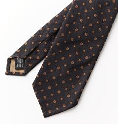 Giusto Bespoke(ジュスト・ビスポーク)<br>COTTON ROUND FLOWER TIE NV